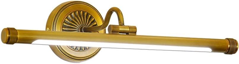 JIY Amerikaanse Copper Mirror Koplampen Led Badkamer spiegelcabinet Badkamerlamp Simple kaptafel make-up Lamp Nordic Muur ...