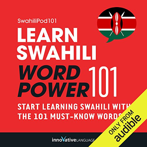 Learn Swahili - Word Power 101 audiobook cover art