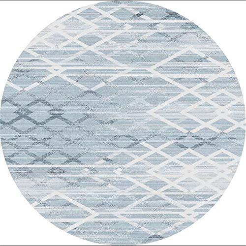 HYMLSH Comfortabele trapbekleding vloermatten 3D rond tapijt, creatieve geometrische kunst tapijten ultradunne zachte antislip tapijtdiameter 100/120/140/160/200/250/300cm