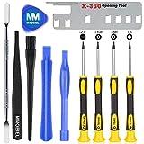 MMOBIEL Kit d'outils Professionnel 11 en 1 pour Réparations Consoles/manettes Xbox One Xbox 360 et Playstation PS3 PS4