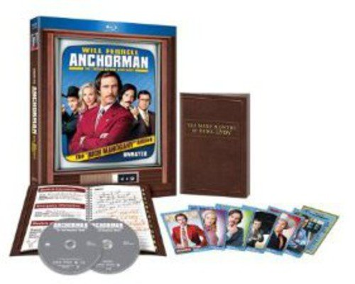Anchorman: The Legend of Ron Burgundy (Unrated Rich Mahogany Edition) [Blu-ray]