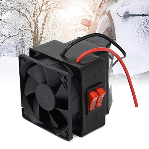 WXJWPZ 24V12/24 V Praktische Winterheizung Autoentfroster Auto Auto Geräuscharmes Interieur Doppelschalter Warmlüfter Einfache Installation Universal
