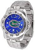 SunTime Men's Florida Gators Sport Steel Anochrome Dial Watch