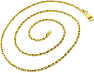 Best italian gold rope chain Reviews