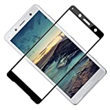 TOCYORIC Verre Trempé pour Sony Xperia XZ2 Compact, 3D Incurvé Couverture Complète Film Protection D'écran, 3D Touch, 9H...
