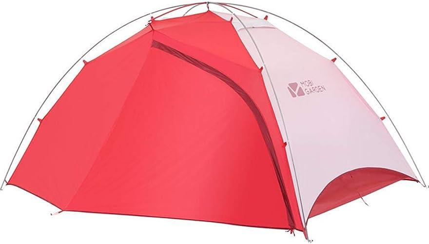 Tente Camping Sauvage de Support extérieure Ultra légère et Ultra légère Contre la Pluie et Le Vent en Aluminium