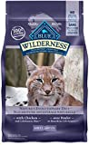 Blue Buffalo Wilderness High Protein Grain Free, Natural Adult Dry Cat Food, Chicken 2.7kg bag