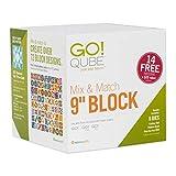 AccuQuilt GO! Fabric Cutting Dies; GO! Qube Mix & Match 9' Block