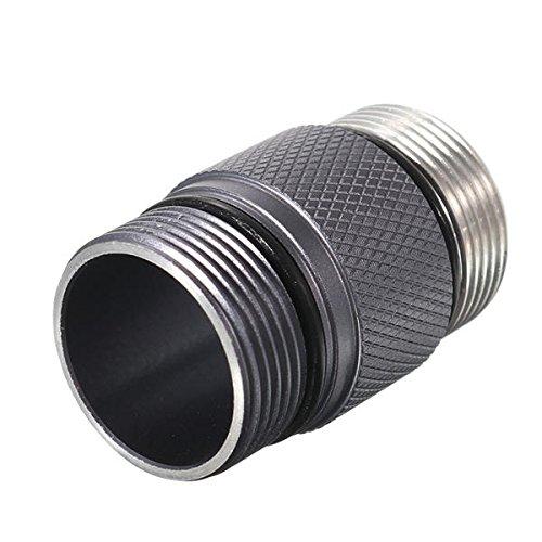 QuickShop 18350 - Linterna de tubo de batería para Convoy S2+ linterna...
