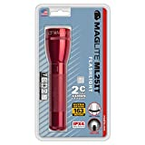Maglite ML25IT Incandescent 2-Cell C Flashlight, Red