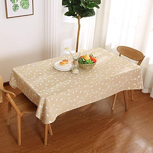 DJUX Mantel de poliéster paño de algodón Arte Mantel de café Estilo Pastoral Sala de Estar Cubierta de Mesa de Cocina Toalla Mantel 90x90cm