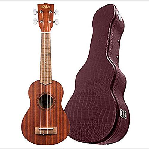 Kala Concert Ukulele Solid Mahogany Series Bundled with Alligator Hardcase - 2 items