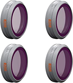 PGY Tech Adv 4-Pack ND-PL Filter Set for Mavic 2 Zoom ND(8-PL/16-PL/32-PL/64-PL)