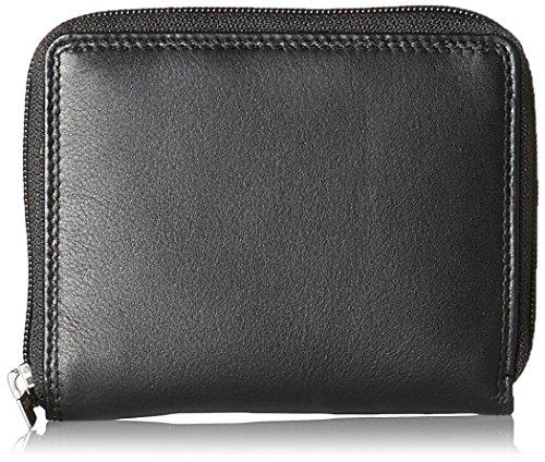 Bodenschatz Unisex-Erwachsene Wallet Geldbörse, Schwarz (Black), 2x11x12 cm