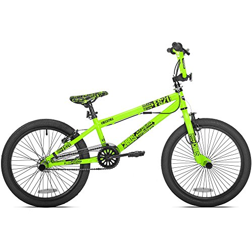 Kent 20u0022 Thruster Chaos Boys BMX Bike, Neon Green