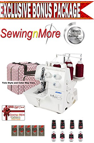 Lowest Price! Juki MCS-1500 Cover and Chain Stitch Serger Machine w/ Exclusive Platinum Series Bonus...