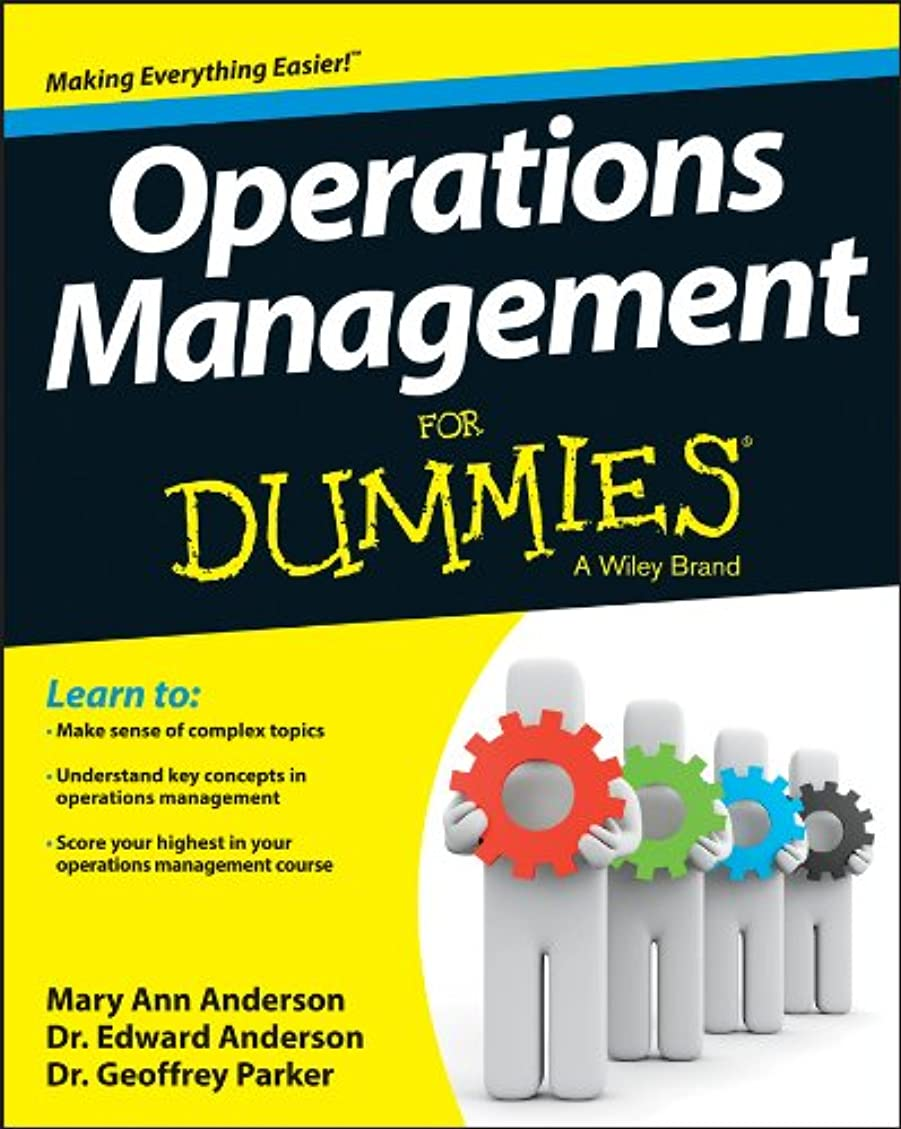 Operations Management For Dummies (English Edition)