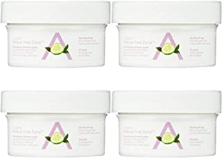 Almay - Oil Free Eye Makeup Remover - Travel Size (15 Pads) Pack of 4