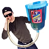 POWER PITCHER Bier-Bong | Premium Party Bier-Trichter | 2 Liter | mit Griff | inkl Ventil |...