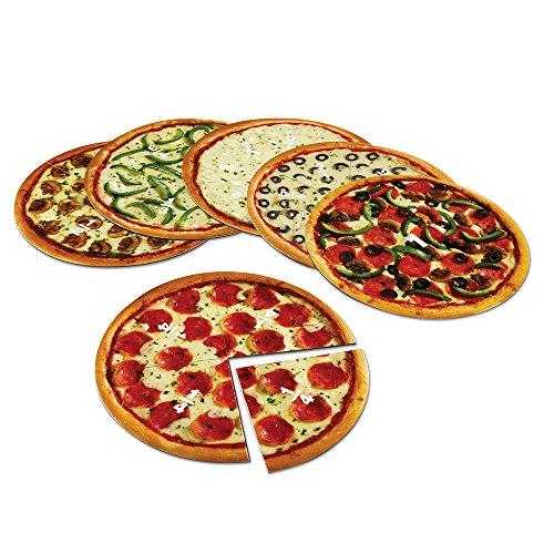 Learning Resources- Pizze magnetiche per frazioni, Colore, LER5062