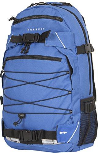 FORVERT Unisex Bag Louis sportlich-lässiger Daypack mit durchdachter Ausstattung und Boardcatcher, blau (royal)