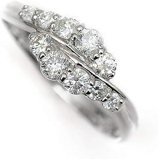 結婚 10周年記念 天然 ダイヤモンド 10石 プラチナ リング 指輪 Pt900/D:0.50ct スイートテン 10.0号