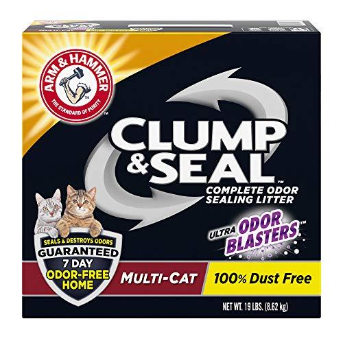 Arm & Hammer Clump & Seal Litter, MultiCat 19lb Box