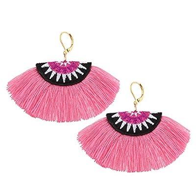 Solememo Classic 13 Colors Rope Tassel Earrings Bohemian Ethnic Jewelry Fashion Drop Dangle Earrings
