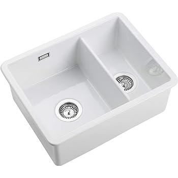 Franke Sirius blanc polaire Tectonite undermount 1.0 Bol Carré Kitchen Sink