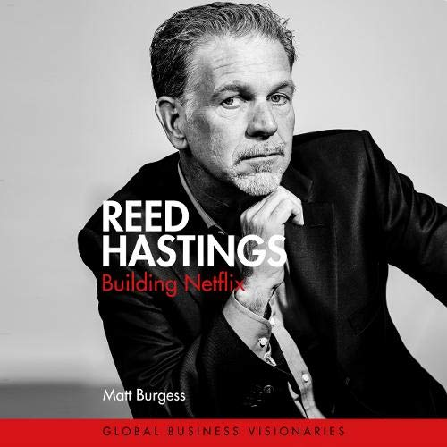 Reed Hastings  By  cover art
