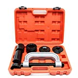 A ABIGAIL Heavy Duty Ball Joint Press & U Joint Removal Tool Kit with 4x4 Adapters, for Most 2WD and 4WD Cars and Light Trucks