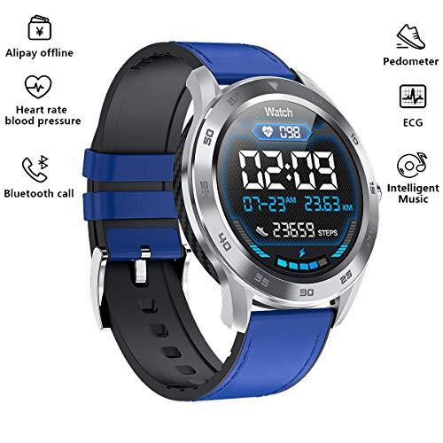 Smart Watch, Fitness Trackers Smartwatch Waterdichte Fitness Horloge met Hartslagmeter Stappenteller Slaapmonitor Stopwatch voor Mannen Vrouwen voor IOS Android
