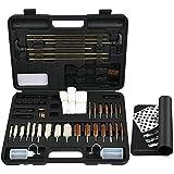 iunio Universal Gun Cleaning Kit,with Mat and Carrying Case,for All Guns, Rifle, Shotgun, Handgun, Pistol, Hunting, Shooting, All Caliber