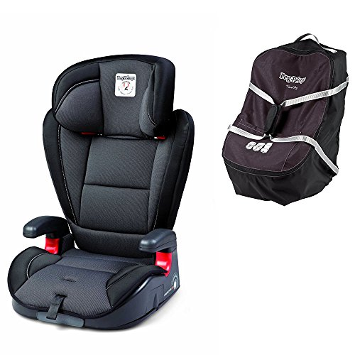 Why Should You Buy Peg Perego Viaggio HBB 120 w Peg Perego Car Seat Travel Bag (Crystal Black)