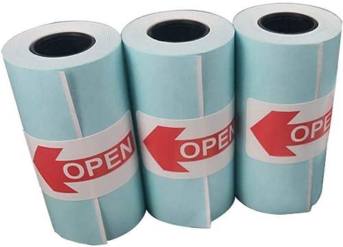 Bobine Thermique Rouleau Papier Thermique 57 x 30 mm pour PAPERANG Mini Imprimante Thermique Portative - 57mm Rouleau...
