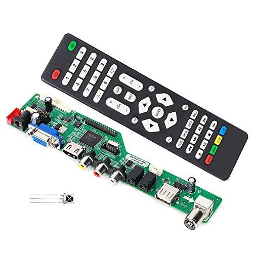 Einfach zu bedienende Audio-Monitor-Treiber-Controller, schnell zu wartende LCD-Controller-Karte, drei praktische Typen für 1920 x 1080 High Screen 7-55-Zoll-Lvds-Bildschirm