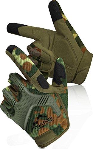 normani Tactical Paintballhandschuhe Army Gloves Specialist Farbe Flecktarn Größe S