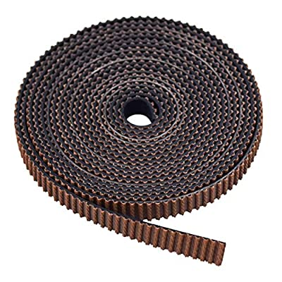 2M GT2 Timing Belt 6mm Width 2mm Pitch Wear-resistant Rubber Tooth Surface for 3D Printers Prusa i3 Anet A8 A6 Anycubic i3 Mega Creality Ender 3/5-2m
