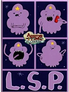 Adventure Time L.S.P Magnet