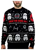 Star Wars Darth Vader Stormtroopers Ugly Christmas Sweater Adult Holiday Sweater Small Multicolor