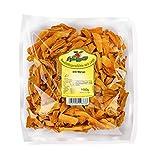 Getrocknete Mango – Trockenobst in Bio-Qualität, naturbelassen und ungeschwefelt – Ideal zum Kochen, Backen oder als gesunder Snack – Mangoscheiben - ohne Zucker – 1000 g