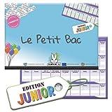 Le Lapin Sigma - Jeu du Petit BAC - Edition Junior - Bloc prêt à Jouer de 50 Pages - Jeu du baccalauréat