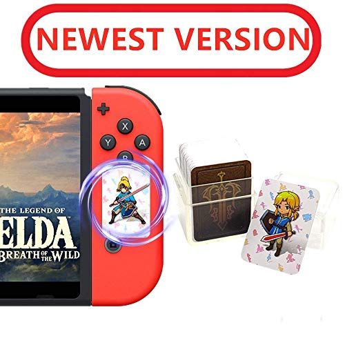 24Pcs The Legend of Zelda Breath of The Wild NFC Cards, Link's Awakening Zelda Botw Game Rewards Cards. Switch/Lite Wii U