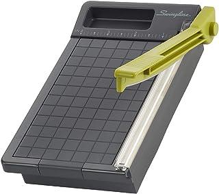 Swingline 1060T Paper Trimmer, Guillotine Paper Cutter, 6 Cut Length, 5 Sheets Capacity, Compact, ClassicCut