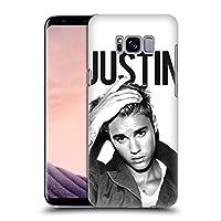 オフィシャル Justin Bieber Calendar ブラック&ホワイト Purpose Samsung Galaxy S8 専用ハードバックケース