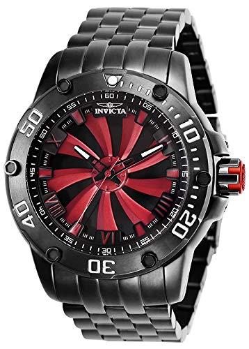 Invicta 25849 Speedway Reloj para Hombre acero inoxidable Automático Esfera rojo