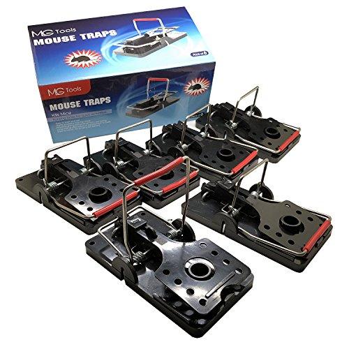 MLG Tools Trampa para Ratas. XXL * 6 Unidades faciles de reutilizar. Captura inmediatamente Las Ratas de su hogar y Oficina (XXL * 6)
