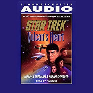 Star Trek: Vulcan's Heart (Adapted) audiobook cover art