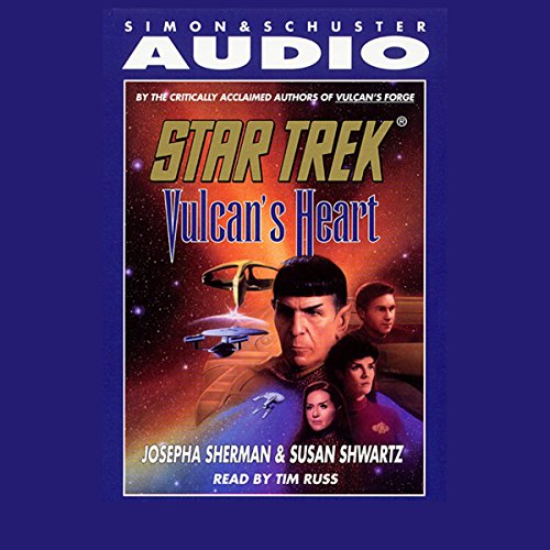 Star Trek: Vulcan's Heart (Adapted) Titelbild