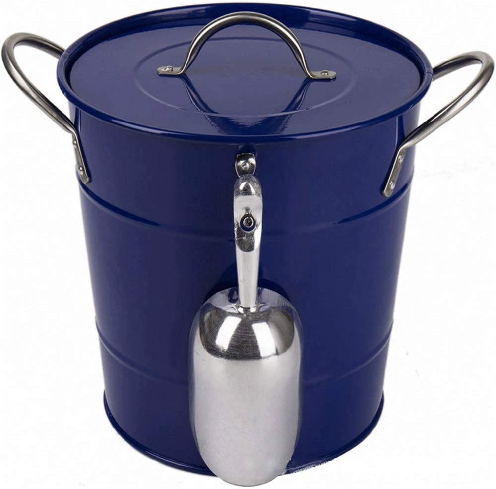 WJCCY Ice Bucket Champagne Barrel Storage San Francisco Mall Easy-to-use Beer